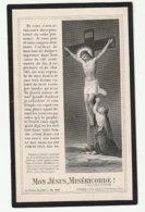 Décès Marie BOGAERT élève Pensionnat Des Soeurs De L'Union Au Sacré-Coeur Marcq 1894 Enghien 1905 - Images Religieuses
