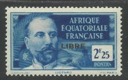 AFRIQUE EQUATORIALE FRANCAISE - AEF - A.E.F. - 1941 - YT 122** - Neufs
