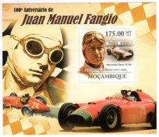 Mocambique 2011 - 100e Anniversaire De JUAN MANUEL FANGIO   -  1v  MS  -  Neuf/Mint/MNH - Automobile