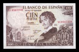 España Spain 100 Pesetas Becquer 1965 Pick 150 SC UNC - [ 3] 1936-1975 : Régimen De Franco