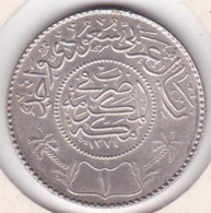 Saudi Arabia 1 Riyal AH 1374 – 1935. Abd Al-Aziz. Argent. KM# 18 - Arabia Saudita