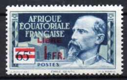 Col17  Colonie AEF Afrique N° 140 Neuf XX MNH Cote 2,00€ - A.E.F. (1936-1958)
