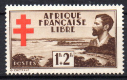 Col17  Colonie AEF Afrique N° 155 Neuf XX MNH Cote 2,50€ - A.E.F. (1936-1958)