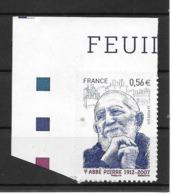 France:Autoadhésif 2010 N°389** (Portrait De L'Abbé Pierre) - Adhesive Stamps