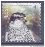 2005. Estonia, Goshawk, Bird Of The Year, 1v, Mint/** - Estonia