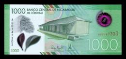 Nicaragua 1000 Córdobas 2017 Pick New Polymer SC UNC - Nicaragua
