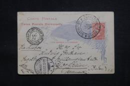 BRÉSIL - Entier Postal Pour L 'Allemagne En 1892 - L 43214 - Postwaardestukken