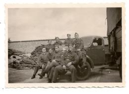 2 PHOTOS Militaires Belges  8,5cm X 6cm. - Militaria