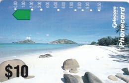 Australia, N930423a, Landscape 93-Lizard Island, 2 Scans. - Australia