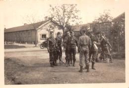 Lot De 11 Photos De 1948 à L'Ecole Militaire De Cadres De Rouffach - Promo Leclerc - Soldats Militaires En Formation - Guerre, Militaire