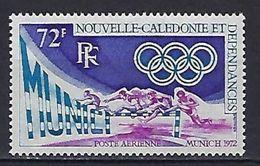 "Nle-Caledonie Aerien YT 133 (PA) "" JO Munich "" 1972 Neuf** - Luftpost"