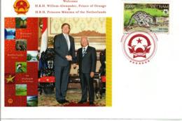WWF  VIETNAM  On Cover - Fishing Cat    /  Enveloppe - Chat Pêcheur    2011 - W.W.F.