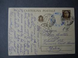 WW2 - ITALY OCCUPATION OF MONTENEGRO 1942- PERASTO - CATTARO - TOLLO CHIETI - CENSURA - 9. Besetzung 2. WK (Italien)
