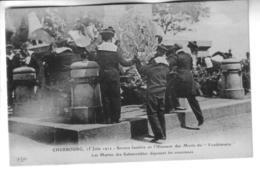 """CHERBOURG 15 Juin  1912 Service Funèbre En L'honneur Des  Morts Du """" Vendémiaire """" - Cherbourg"""