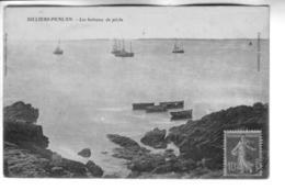 BILLIERS-PENLAN Les Bateaux De Pêche - Andere Gemeenten