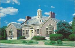 """CP Des Etats Unis """" SANFORD MAINE - Louis GOODALL Mémorial Library 1976 - Etats-Unis"""