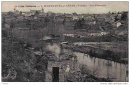 Carte Postale 85. Mortagne-sur-Sèvre  Trés Beau Plan - Mortagne Sur Sevre