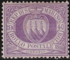 San Marino      .   Yvert     .   7    ( 2 Scans)   .   (*)     .    No Gum   .   /    .  Pas De Gomme - Saint-Marin