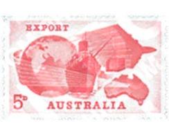 Ref. 122273 * MNH * - AUSTRALIA. 1963. EXPORTS . EXPORTACIONES - Bateaux