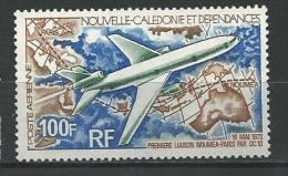 "Nle-Caledonie Aerien YT 144 (PA) "" Avion "" 1973 Neuf** - Luftpost"