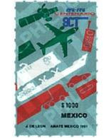 Ref. 343464 * MNH * - MEXICO. 1991. CENTENARY OF THE COMMUNICATIONS AND TRANSPORTS SYSTEM . CENTENARIO DEL SISTEMA DE CO - Eisenbahnen