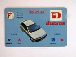 DIFFICULT CARD   DUCROS  TOGO TOP CONDITION - Togo