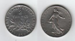 France 2 Francs 1899  2F - I. 2 Francs