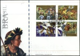 PORTUGAL, 2000, 500 YEARS OF DISCOVERY OF BRAZIL, CE#2681-84, FDC - FDC