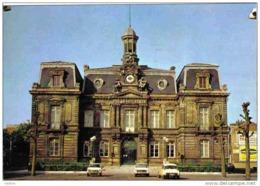 Carte Postale  59.  Anzin  La Mairie DS Citroën  404 Peugeot  204 Trés Beau Plan - Anzin