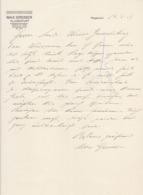 RECHNUNG , FACTURA  --  KLAGENFURT    --  MAX GREINER  --  1917 - Österreich