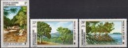 """Nle-Caledonie Aerien YT 147 à 149 (PA) """" Sites Et Paysages """" 1974 Neuf** - Luftpost"""
