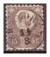Ungarn, Nr. 12a, Gestempelt - Gebraucht