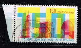 Bund 2018, Michel# 3374 O 150 Jahre Technische Universität München - Gebraucht