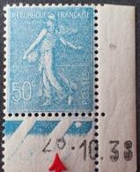 R1189/70 - 1938 - TYPE SEMEUSE LIGNEE - N°362 NEUF** LUXE CdF Daté ☛ Chiffres Décalés - 1903-60 Semeuse Lignée