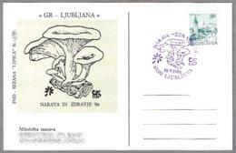 Narava In Zdravje'96 - SETA - MUSHROOM - CHAMPIGNON. Ljubljana, Yugoslavia, 1986 - Hongos