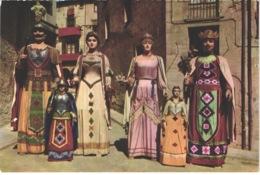 ES SOLSONA - 5 - Gigantes - Animée - Belle - Carnaval