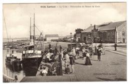 LORIENT (56) - La Criée - Débarcadère Du Bateau De Groix - Ed. Collection Villard, Quimper - Lorient
