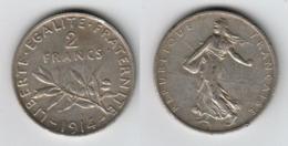 France 2 Francs 1914  2F - I. 2 Francs