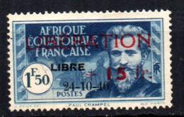 Col17  Colonie AEF Afrique N° 182 Oblitéré Cote 50,00€ - A.E.F. (1936-1958)