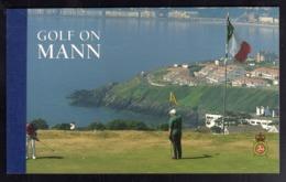 ISOLA DI MAN ISLE OF MAN 1997 GOLF ON MANN PRESTIGE BOOKLET LIBRETTO CARNET UNUSED NUOVO MNH - Isola Di Man
