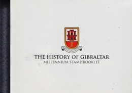 Gibraltar Millennium Cancelled Booklet - Unclassified