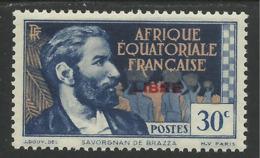 AFRIQUE EQUATORIALE FRANCAISE - AEF - A.E.F. - 1941 - YT 129** - A.E.F. (1936-1958)