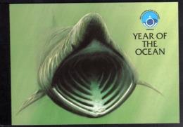 ISOLA DI MAN ISLE OF MAN 1998 YEAR OF THE OCEAN ANNO DELL'OCEANO PRESTIGE BOOKLET LIBRETTO CARNET UNUSED NUOVO MNH - Isola Di Man