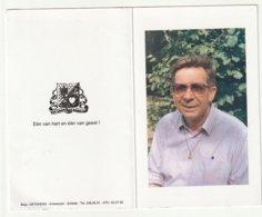 Doodsprentje Pater Staf SMETS Missionaris Scheut Congo Mijnwerkers Zambia Muide Bij Haven Van Gent Schilde 1999 - Images Religieuses