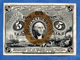 USA   - 5 Cents 3/3/1963  -  Pick # 101  -  état  TTB - 1863 : 2. Ausgabe