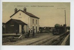 Nouans La Gare Voyageurs Pour Loches  Top - Francia