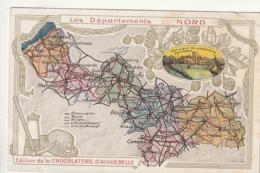 59  *** CHROMOS  *** édition De La Chocolaterie D' AIGUEBELLE --NORD - Aiguebelle