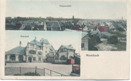 -Totalansicht : Bahnof - Mombach . - Germany