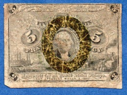 USA   - 5 Cents 3/3/1963  -  Pick # 101  -  état   B- - 1863 : 2 Uitgave