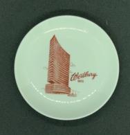Cendrier Porcelaine Vintage. Westbury Hotel, Brussels - Porcelaine